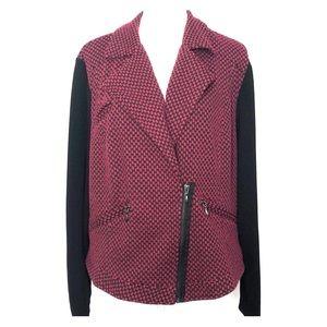 Torrid woman's drape front jacket